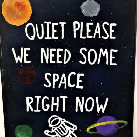 Calming Room Sign